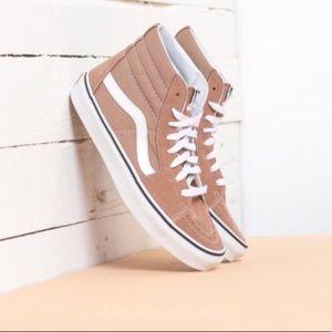 NWT Vans Sk8-Hi Tiger's Eye Skate Shoe W 6.5, M 5
